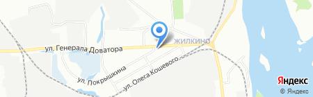 Дом на карте Иркутска