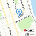 Средняя общеобразовательная школа №80 на карте Иркутска