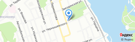 SubWay на карте Иркутска