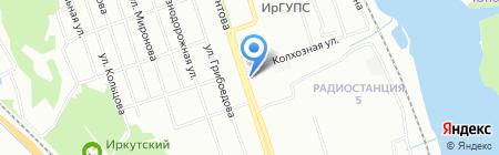 Альфа-Маркет на карте Иркутска