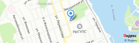 Depo на карте Иркутска