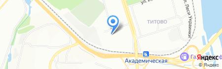 Тактика на карте Иркутска