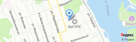 Детский сад №37 на карте Иркутска
