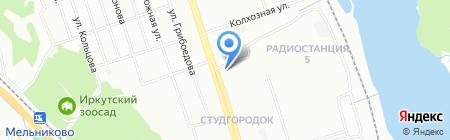 Умные игры на карте Иркутска