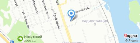 АРТиШОК на карте Иркутска