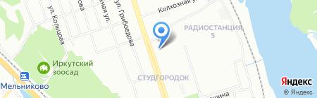 Альянс-Недвижимость на карте Иркутска