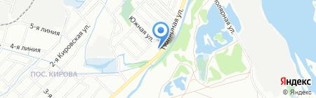 Айс-норд на карте Иркутска