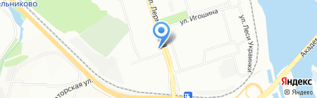 Строй КАП на карте Иркутска