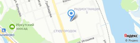 ПЕРЕЦ на карте Иркутска