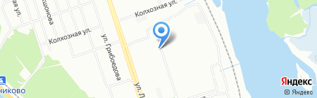 Группа строящихся жилых домов на карте Иркутска