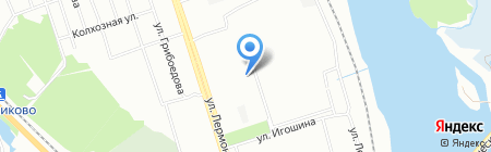 АвтоГрад на карте Иркутска