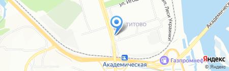 ABC на карте Иркутска