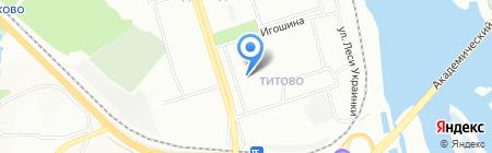 Paintkiller на карте Иркутска