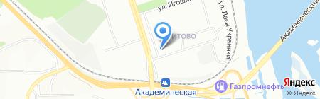 НИ ИрГТУ на карте Иркутска