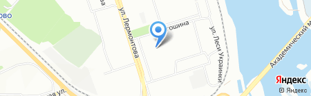 Деловой центр НИ ИрГТУ на карте Иркутска