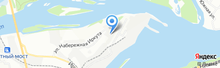 Иркутские мастера на карте Иркутска