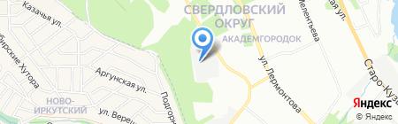 ЭксПресс на карте Иркутска