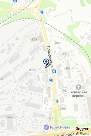 Цех мукомольный на карте Иркутска