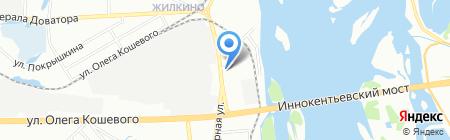 Ломбард Рублик на карте Иркутска