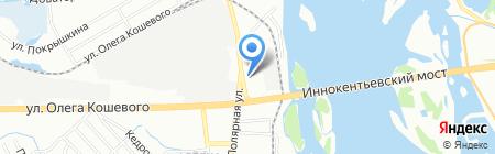 JapanTrek Lider на карте Иркутска