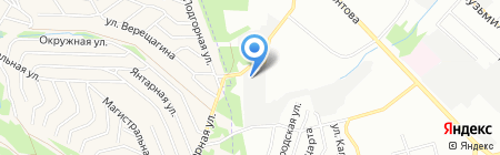 Метатех на карте Иркутска