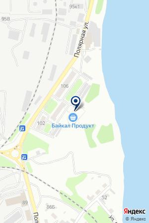 Байкал продукт омулевая бочка на карте Иркутска