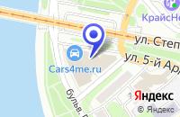 Схема проезда до компании ТоксСофт-АвтоматикаПромСервис, ЗАО в Иркутске