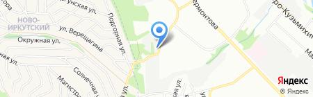 ЭЛЕКТРОСЕТЬПРОЕКТ на карте Иркутска
