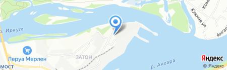 Маэстро Назаров на карте Иркутска