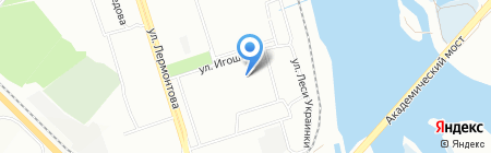 Детский сад №89 на карте Иркутска