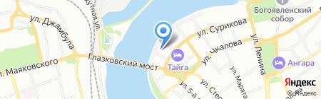 СКБ Контур на карте Иркутска