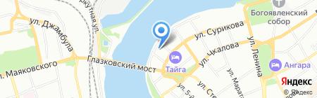 БрендБук на карте Иркутска