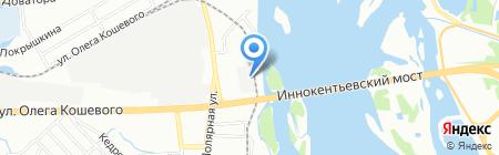 Салат на карте Иркутска