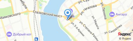 СОГАЗ на карте Иркутска