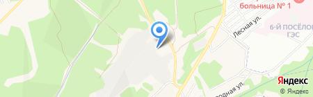 Большая авторазборка на карте Иркутска