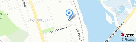 Эколаб на карте Иркутска