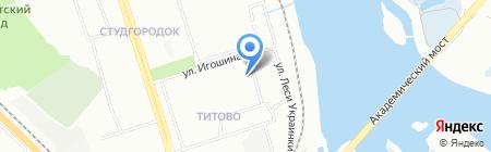 Федерация Капоэйра Иркутской области на карте Иркутска