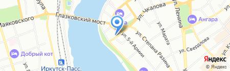 Специальная коррекционная общеобразовательная школа №10 для детей с ограниченными возможностями здоровья на карте Иркутска