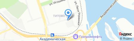 Картель на карте Иркутска