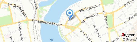 Ковчег на карте Иркутска