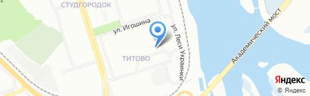 IRKBUS на карте Иркутска