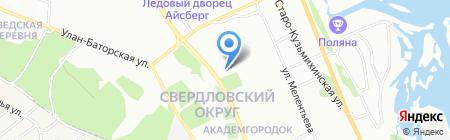 Прогресс-Сервис на карте Иркутска