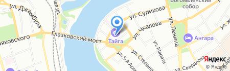 Строй Город на карте Иркутска