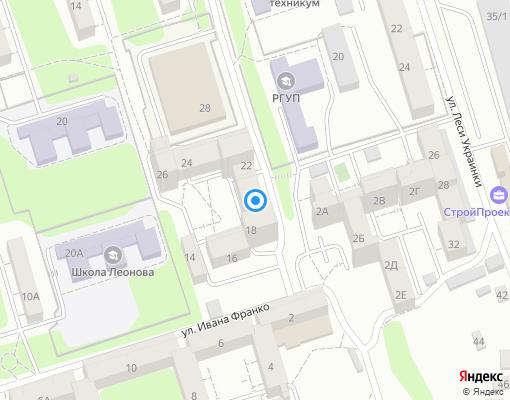 Товарищество собственников жилья «ТСЖ Галактика-ЗЕТ» на карте Иркутска