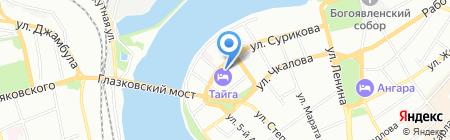 ИНФИНИТИ ЛАЙФ на карте Иркутска
