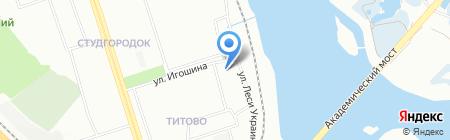 Иркутский гидрометеорологический техникум на карте Иркутска