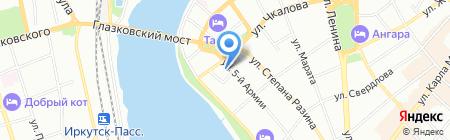 Свято-Троицкий храм на карте Иркутска