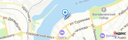 ТГО на карте Иркутска