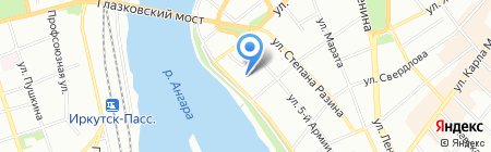 Владение на карте Иркутска