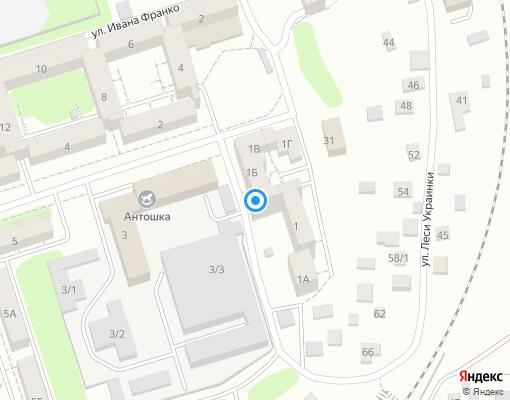 Товарищество собственников жилья «Теремок» на карте Иркутска